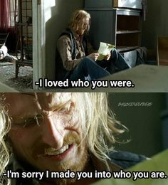 "Dwight reading Sherry's letter. The Walking Dead S07 E11 ""Hostiles and Calamities."" Season 7 Episode 11."