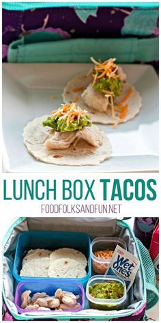 Lunch Box Tacos – Your kids will love these mini tacos. They're easy to prepare, and they make them themselves! #WishIHadAWetOnes #ad