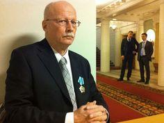 Timo Vihavainen sai Ystävyyden kunniamerkin helmikuussa 2014.  Se on Venäjän valtion myöntämä korkea-arvoinen tunnustus. Kuva: Jarmo Koponen