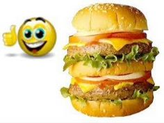 "A mí me gustan las hamburguesas-cute for teaching likes and dislikes, uses ""food"" vocabulary."