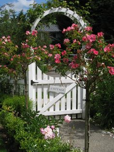 Rose arbor gate...love...