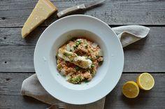 FoodLover: Hráškové risotto a pečený halibut