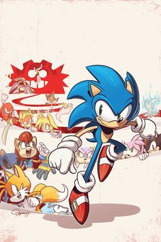This year I got to fulfill a childhood fantasy and do a cover for Archie's Sonic the Hedgehog comic series. Growing up it was one of the onl. Sonic the Hedgehog Sonic The Hedgehog, Shadow The Hedgehog, Hedgehog Art, Shadow Sonic, Game Sonic, Sonic Mania, Sonic Franchise, Sonic Fan Art, Archie Comics