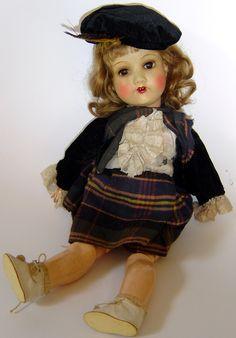 Armand Marseille scottish doll  This looks like Mom's doll...same maker.