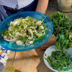 Spring Salad With Feta, Peas & Asparagus | sheerluxe.com Spring Salad, Side Plates, Tips & Tricks, Asparagus, Feta, Fashion Stylist, Spring Fashion, Cabbage, Stylists