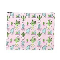 Pink Cactus Pouch. Shop only the best contemporary streetwear & acccessories over at InverseCulture.com