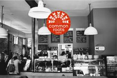 Common Roots Cafe, Lyndale and 26th, Minneapolis - nice place to meet for a coffee or beer, but I always think they ruin their food by trying too hard.  The mac and cheese was good before you put the stupid truffle oil on it.