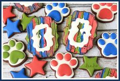 How To Make Reverse Silhouette Cookies
