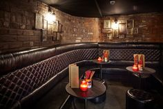 banquette seating, Blind Tiger
