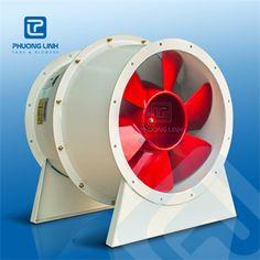 Quạt hướng trục AXP-5-NoD: là quạt hướng trục được sử dụng trong hút khói hành lang, thông gió hút khói tầng hầm, tăng áp cầu thang, thông gió trục kỹ thuật,...