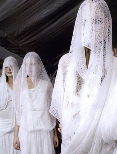 Givenchy S/S 2009 Haute Couture backstage by Jason Lloyd Evans