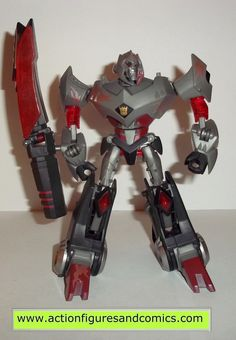 Takara / Hasbro toys TRANSFORMERS animated action figures for sale to buy 2009 battle begins MEGATRON with electro battle damage 100% COMPLETE Condition: Excellent - nice paint, nice joints - nothing
