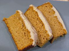 Low Carb Pumpkin Loaf with Cinnamon Cream Cheese Frosting | Peace, Love, and Low Carb using Carbquik