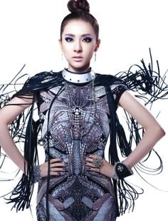 Dara looks crazy awesome…wish she had opted for a different hairstyle~ Sandara 2ne1, Sandara Park, Kpop Girl Groups, Kpop Girls, 2ne1 Dara, Star Photography, Artistic Photography, Evolution Of Fashion, Asian Style