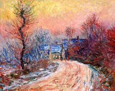 FANTASTIC BEAUTIFUL -- GIVERNY by CLAUDE MONET .