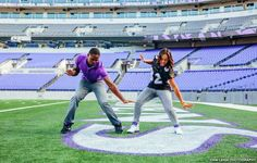 3e19e14ec94 I love the Ravens (woot!) and one of our star players recently took his  engagement photos at M T Bank stadium with his fian