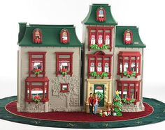 Fisher Price Loving family Exclusive Holiday Dollhouse Fully Furnished with 50 accessories Fully furnished with six beautiful all-season room sets, plus lots of Sims, Loving Family Dollhouse, Fisher Price Toys, Thing 1, Kids Zone, Girl Decor, Twinkle Lights, Dollhouse Dolls, Toys For Girls