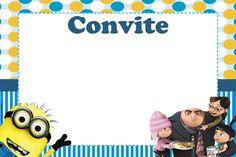 Convite personalizado Minions