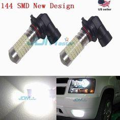 JDM ASTAR New 144 SMD 2400LM LED Fog Light Bulb 9005 9006 H10 H8 H7 H10 H11 5202 #JDMASTAR