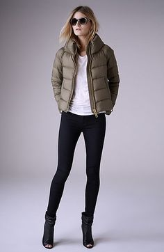"Burberry Brit ""Townfield"" Short Goose Down Jacket ($895)"