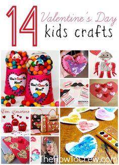 14 Valentine's Day Crafts for Kids