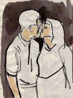 """Kissing"" Leanne Shapton"