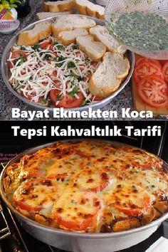 Pie Recipes, Snack Recipes, Snacks, Turkish Kitchen, Quiche, Tea Time, Mashed Potatoes, Pizza, Bread