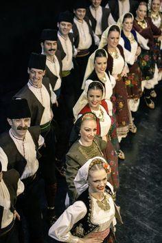 Serbian traditional costume from vicinity of Niš (Southern Serbia) *ansambl KOLO foto Jelena Janković