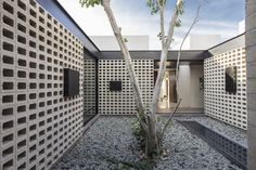 """Un Patio by Arquitectos located in Mérida, Mexico. """"Un Patio"""" is a single-family housing project, located north of the city of Mérida in the state of…"""