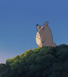 Discover & share this Totoro GIF with everyone you know. GIPHY is how you search, share, discover, and create GIFs. Studio Ghibli Art, Studio Ghibli Movies, Hayao Miyazaki, Animes Wallpapers, Cute Wallpapers, Zoro Roronoa, Personajes Studio Ghibli, Totoro Merchandise, Studio Ghibli Background