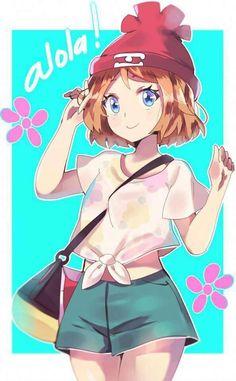 "aionyan: ""– such a cutie and sadly we didnt have her in sun&moon anime uvu… "" Pokemon Mew, Pokemon Waifu, Pikachu, Gijinka Pokemon, Sexy Pokemon, Cute Pokemon, Chica Anime Manga, Me Anime, Kawaii Anime"