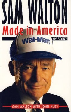 Sam Walton, Made in America: My Story  with  John Huey Libro en ingles  SIGMARLIBROS