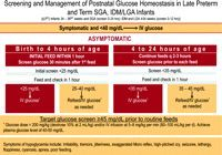 """""""Routine screening and monitoring of blood glucose concentration is not needed in healthy term newborn infants after an entirely normal pregnancy and delivery."""""""