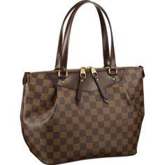 8ec6abf2e0a4 Louis Vuitton Online Damier Ebene Canvas Westminster PM The world s premier  online luxury fashion destination.