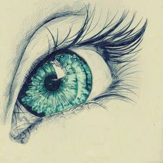eye, drawing, and eyes image Pencil Art Drawings, Art Drawings Sketches, Cool Drawings, Hipster Drawings, Eyes Artwork, Eye Art, Drawing People, Drawings Of People Easy, Painting & Drawing