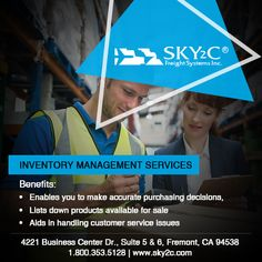 Reduce the delivery time to distributors and retailers and increase your business's efficiency and productivity. Contact Sky2C today for your business's Storage as well as Inventory Management requirements.