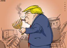 Trump's explosive move. Today's cartoon by Tomas: https://www.cartoonmovement.com/cartoon/44859