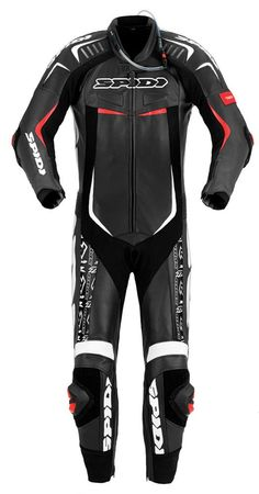 Spidi Track Wind Pro Replica Evo Leather Mens Motorcycle Race Suits