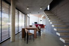 Floating Stairs - W House / IDIN Architects
