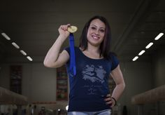 Vanessa Ferrari oro di Sofia 2014 Niko Style  t-shirt ginnastica artistica