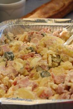 Une salade complète et ultra simple à faire ! - Recette Entrée : Salade piémontaise ultra facile par Coocooningcook
