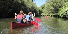 Kanutour auf dem Altrhein in Bad Bellingen Raum Freiburg #Abenteuer #Boote #Bootsfahrt
