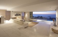 "Ok. Maybe not so ""Homey"". A little cold for my taste, but pretty darn stunning. Cape Town Penthouse By: Bakoven Penthouse"