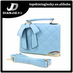 2015 fashion top quality ladies leather handbag with bowknot strap  FOB Price: US $ 5.7 - 8 / Piece   Get Latest Price Min.Order Quantity: 100 Piece/Pieces Supply Ability: 100000 Piece/Pieces per Month