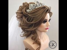 Beautiful Wedding Hair [Bride] by Mounir Salon #2 - YouTube