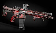 Backyard Fort, Ar Parts, Ar 15 Builds, Ar Build, Battle Rifle, Survival Items, Gun Art, Sci Fi Weapons, Custom Guns