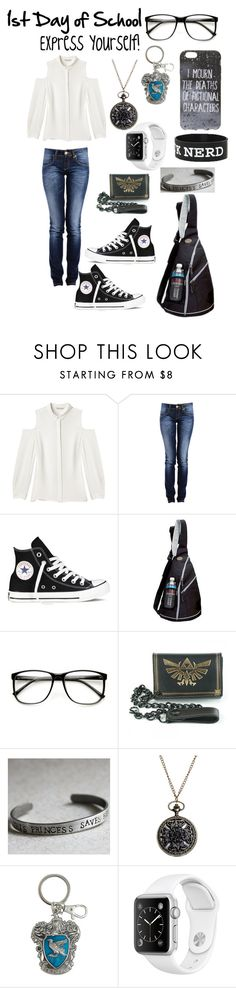 """Express Yourself!"" by mimi-minecrafter on Polyvore featuring Rebecca Minkoff, Converse, Preferred Nation, ZeroUV and Nintendo"