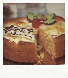 """my"" lactose-free Christmas cake"