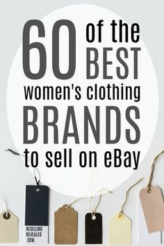 ResellingRevealed - Mastering The Reselling Game - ResellingRevealed - Home Best Clothing Brands, Resale Clothing, Used Clothing, Shoe Brands, Womens Clothing Stores, Ebay Clothing, Ebay Selling Tips, Selling Online, Ebay Tips