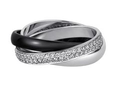 The only thing this ring is missing is my finger!!! Cartier Trinity Ring